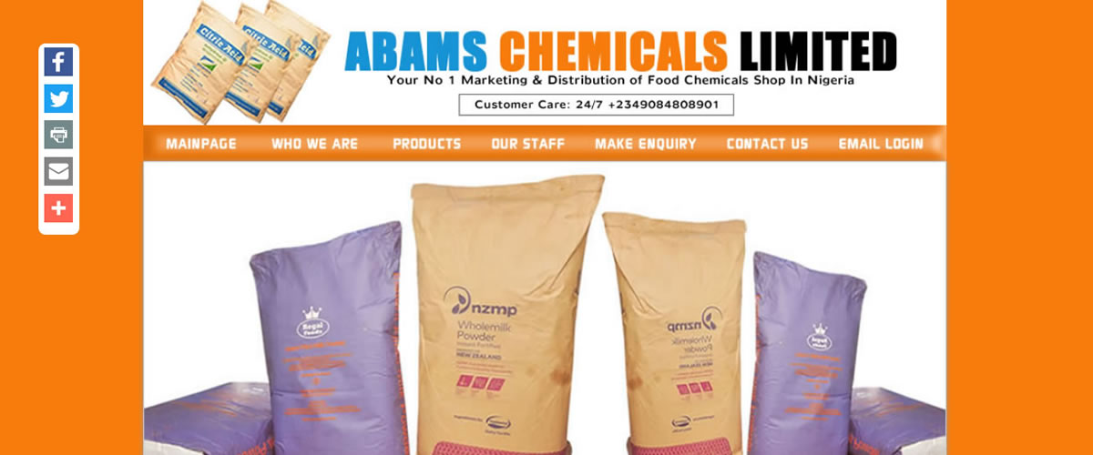 Abams-Chemicals Limited